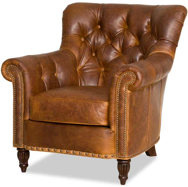 Bradington Young - Leather Club Chair 463-25 - KIRBY