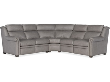 Bradington Young - Leather Motion Sectional - 206 ROBINSON