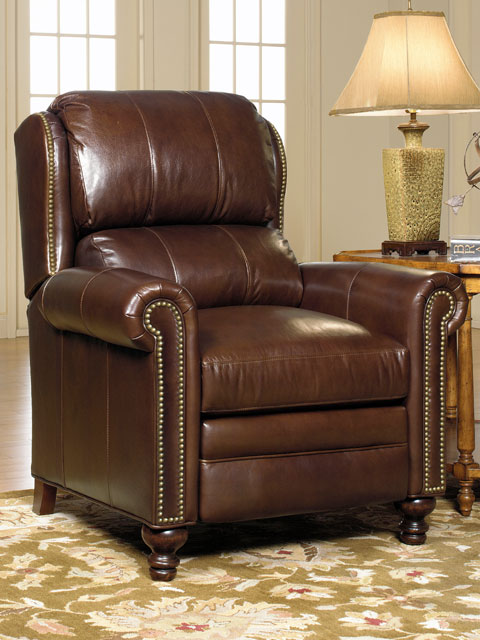 Bradington Young Leather Recliner 3257 Satchell