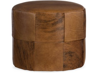 Bradington Young - Leather Ottoman 378-OT - BOTTOM OF THE BARREL