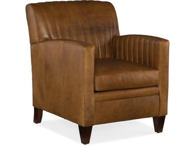 Bradington Young - Leather Club Chair 406-25 BARNABUS