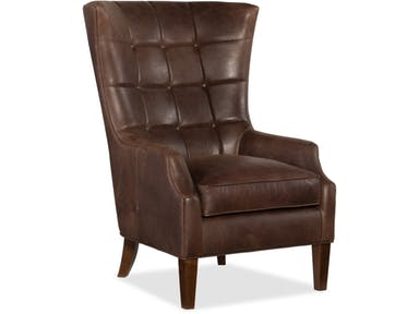 Bradington Young - Leather Club Chair - 408-25 - GALLIN