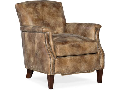 Bradington Young - Leather Club Chair 423-23 Vincent