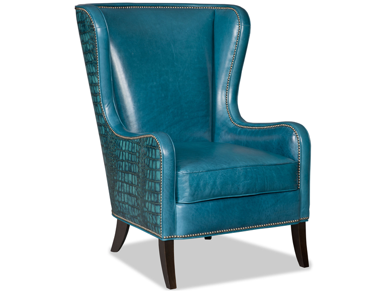 Bradington Young - Leather Club Chair 445-25 - AURORA