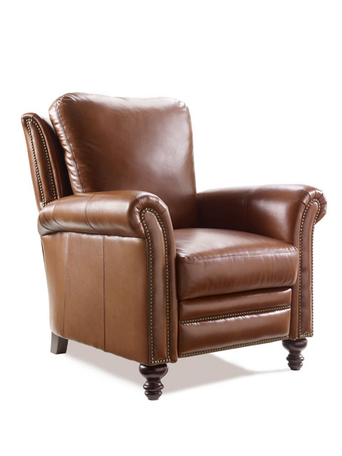 Bradington Young Leather Recliner 4866 Richardson