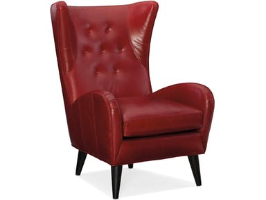 Bradington Young - Leather Club Chair 488-25 - SLADE