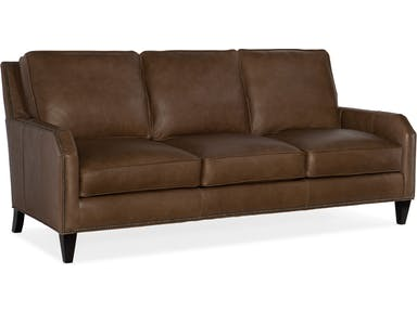 Bradington Young - Leather Sofas 510-95 Caroline