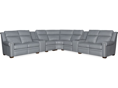 Bradington Young - Leather Motion Sectional - 960 IMAGINE