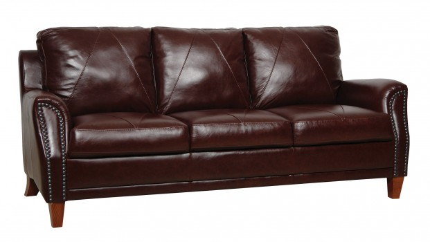 Luke Leather Furniture - Sofas - AUSTIN in Color 153 Sienna