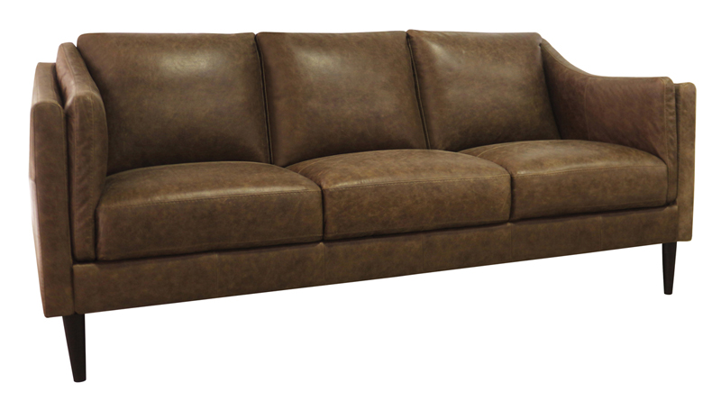 Luke Leather Furniture - Sofas - Ava 3511 in color Bomber Tan