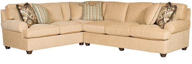 King Hickory Furniture - Henson Sectional