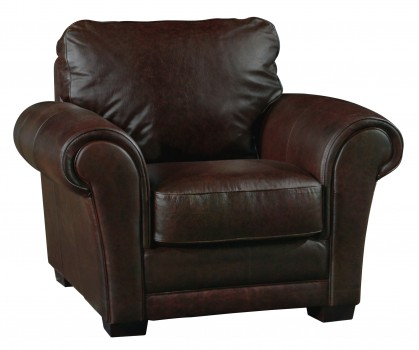 Luke Leather Furniture - Chairs - MARK in Color 150 Whiskey