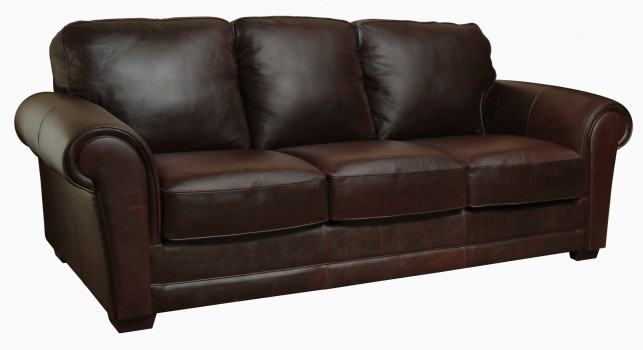 Luke Leather Furniture - Sofas - MARK in Color 150 Whiskey