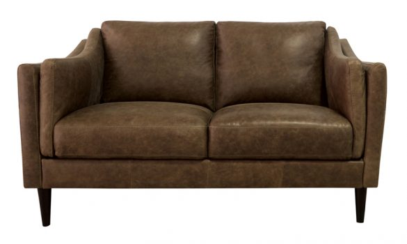 Luke Leather Furniture - Loveseats - AVA in 3511 Bomber Tan