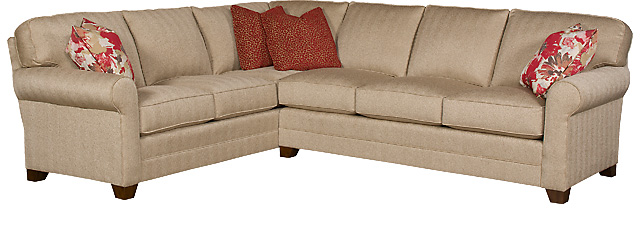 King Hickory Furniture - Bentley Sectional
