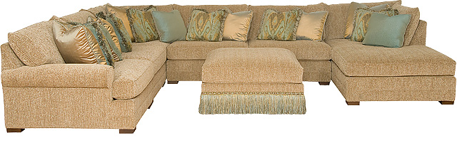 King Hickory Furniture - Casbah Sectional