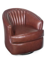 Bradington Young - Leather Swivel Tub Chairs