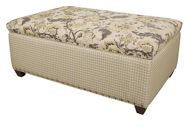 King Hickory Furniture - Depot Storage Ottoman
