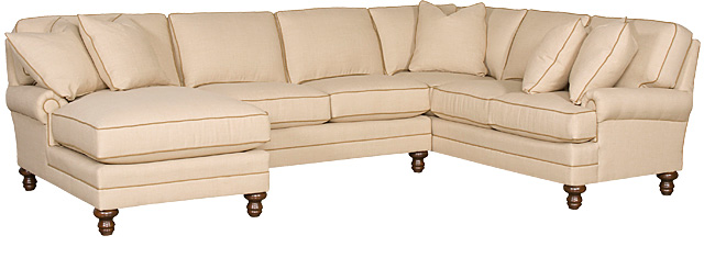 King Hickory Furniture - Kelly Sectional