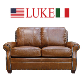 Luke Leather - Loveseats
