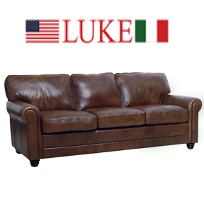 Luke Leather - Sofas