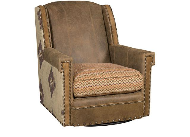 King Hickory Furniture - Mustang Swivel Chair