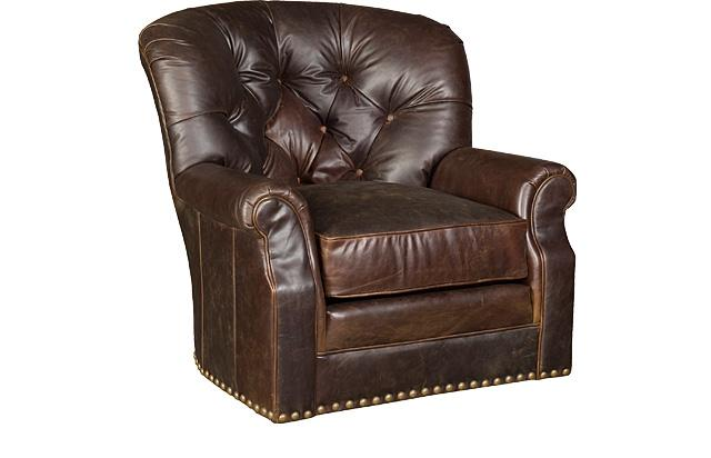 King Hickory Furniture - Oscar Swivel Chair