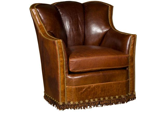 King Hickory Furniture - Pecos Swivel Glider Chair