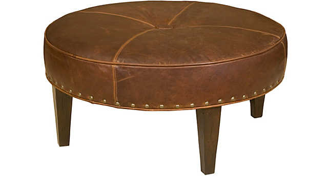 King Hickory Furniture - Rounder Ottoman