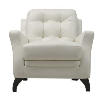 Luke Leather Furniture - Chairs - SOFIA in 309 Ivory