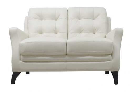 Luke Leather Furniture - Loveseats - SOFIA in 309 Ivory