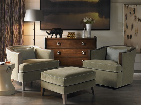 Vanguard Furniture - American Bungalow Chairs & Ottomans