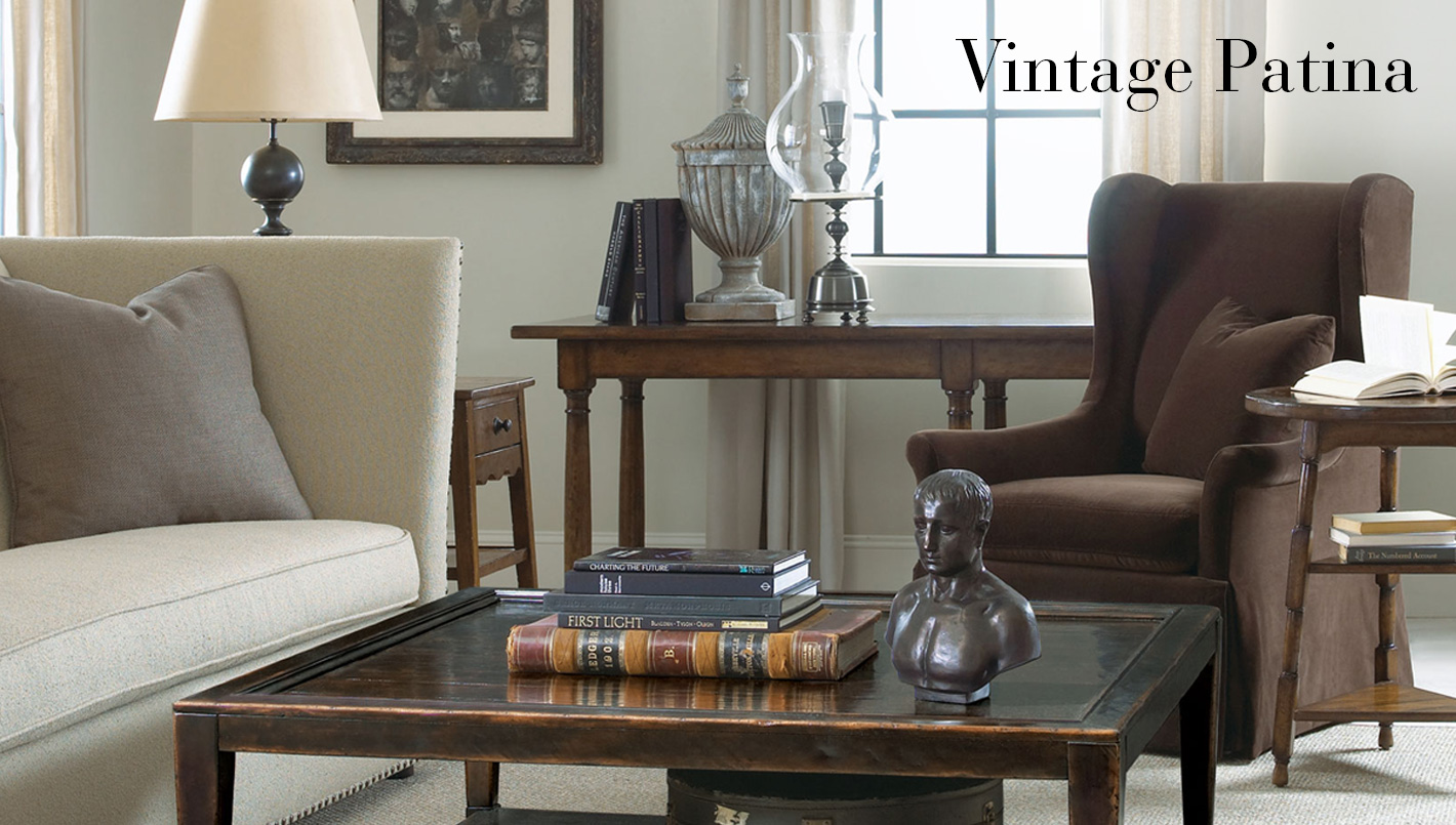 Bernhardt Furniture - Vintage Patina Collection