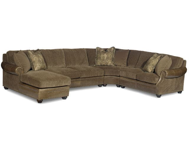 Bradington Young - 220 Leather Sectional WARNER
