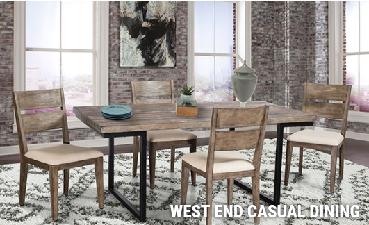 Cresent Fine Furniture - West End Casual Dining