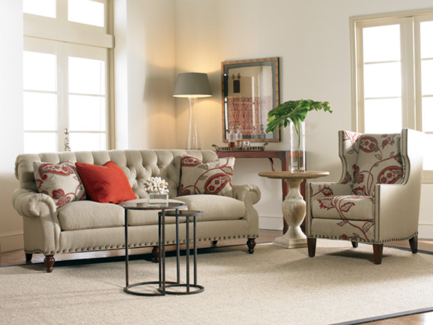 Sherrill Furniture Wing Chairs