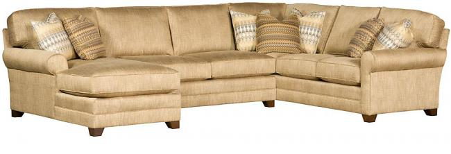 King Hickory Furniture - Winston Sectional