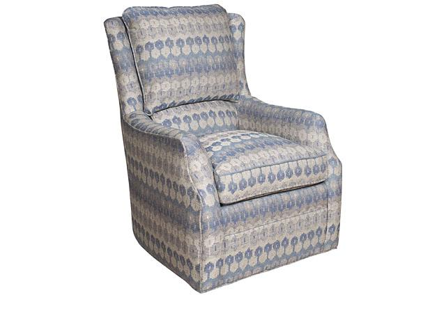 King Hickory Furniture - Writer Swivel Chair