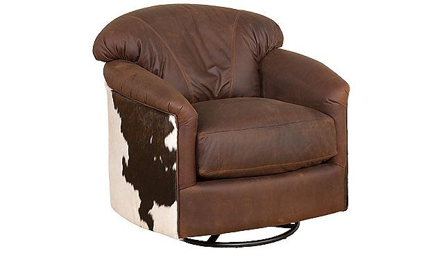 King Hickory Furniture - Zeuss Swivel Glide Chair
