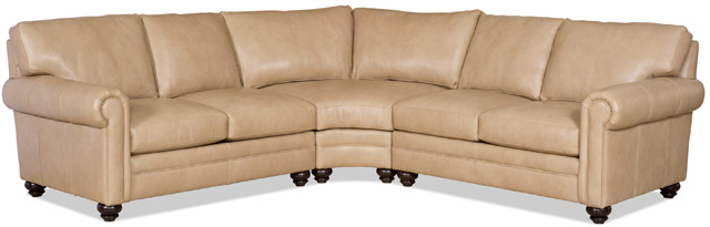 172 bradington young leather sectional daire - Bradington Young : bradington young sectionals - Sectionals, Sofas & Couches