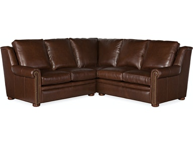 Bradington Young - 202 Leather Sectional Reece