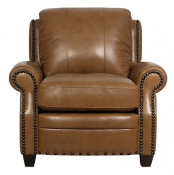 Luke Leather Furniture - Chairs - BENNETT in color 2552 Wheat