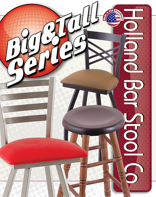 Holland Bar Stool - Big and Tall Series