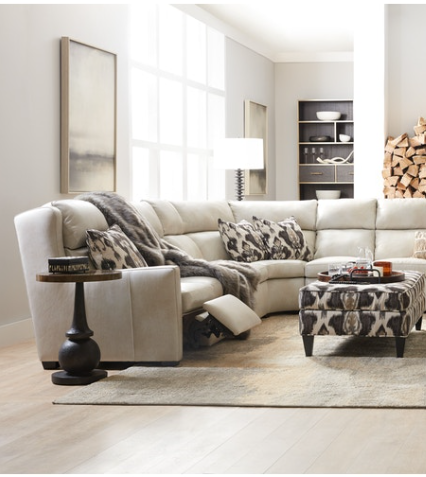 Bradington Young - Leather Reclining Sectional