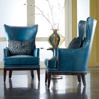 Bradington Young - Leather Club Chairs