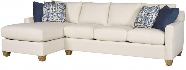 Darby King Hickory Furniture Sectional