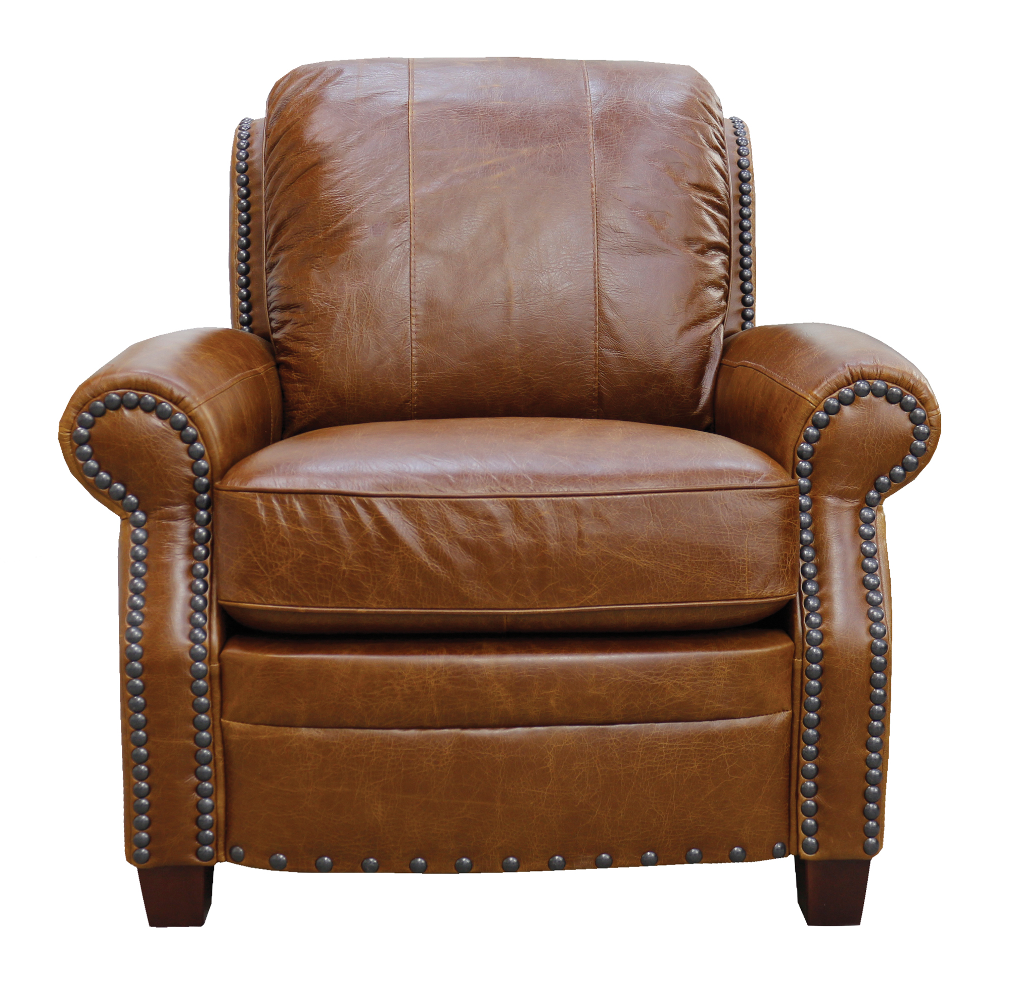 Luke Leather Furniture - Chairs - ASHTON in Color 156 Safari Tan