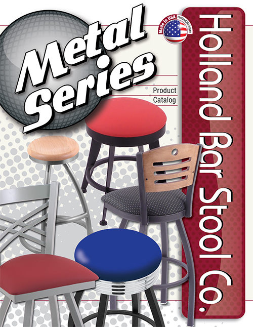 Holland Bar Stool - Metal Series