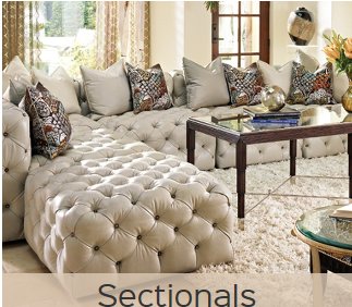 Marge Carson Design - Sectionals