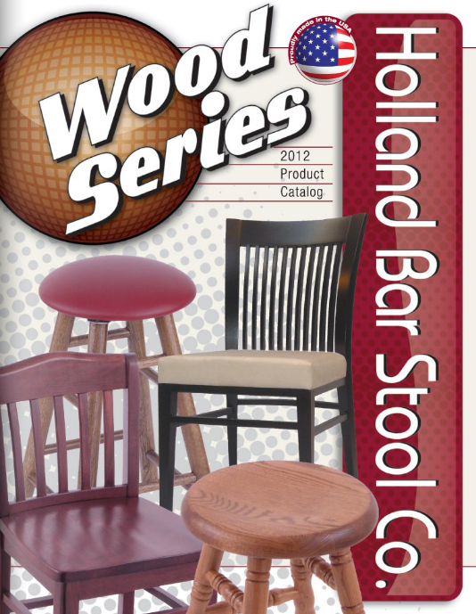 Holland Bar Stool - Wood Series
